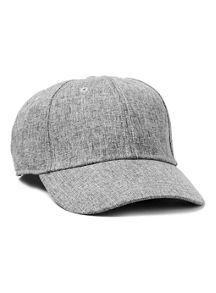 Topman Chambray curved peak cap