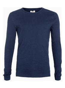 Topman Ribbed long sleeve t-shirt