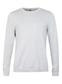 Essential marl crew neck jumper