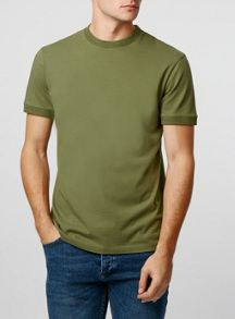 Topman Ltd core rib t-shirt