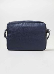 Topman Leather look flight bag