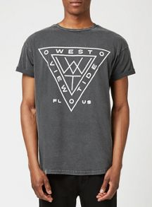 Topman Short sleeve print t-shirt