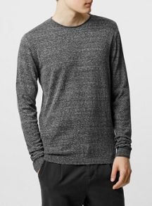 Topman Slub bagel neck jumper