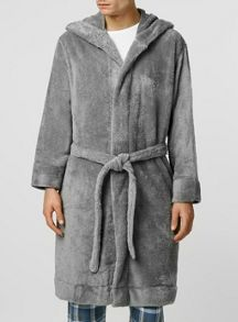 Topman Grey Dressing Gown
