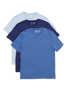Topman Short sleeve crew t-shirt multipack x3