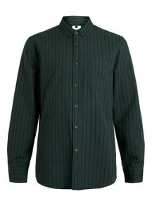 Topman Long sleeve stripe casual shirt