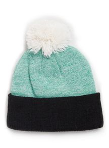 Mixed bobble beanie