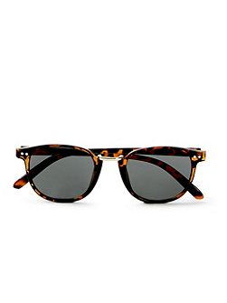 Tortoise Shell Square Sunglasses