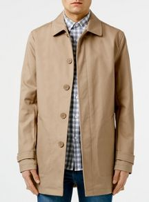 Topman Stone cotton mac