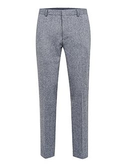 Birdseye Skinny Fit Suit Trousers