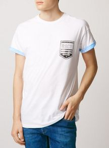 Topman Short sleeve pattern roller t-shirt