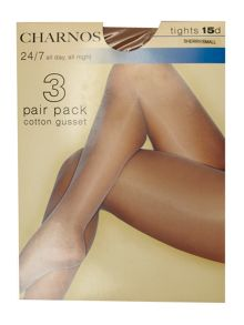 Charnos 24/7 15 Denier sheer 3pp tights
