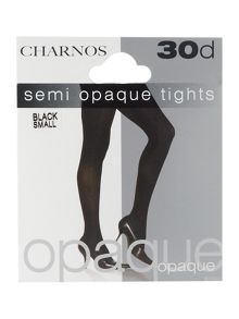 Charnos 30 denier semi opaque tights