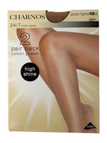 Charnos 10 Denier sheer gloss tights