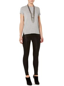 Gray & Willow Klara leather stretch leggings