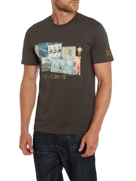Rugby World Cup 2015 Webb Ellis Cup Graphic Crew Neck T-Shirt