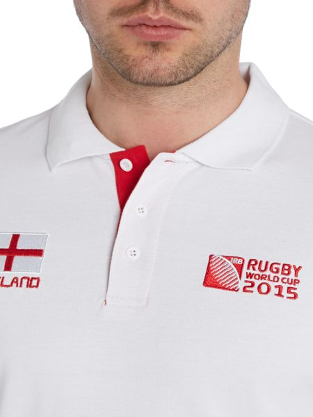 Rugby World Cup 2015 England Pique Polo Shirt