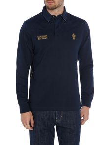 Rugby World Cup 2015 Webb Ellis Cup Plain Rugby Neck Regular Fit Rugby