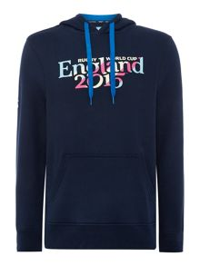 Rugby World Cup 2015 England Script Hooded Jumper