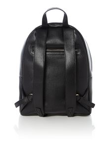 Black large heart backpack