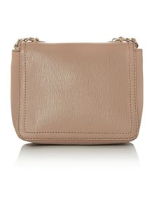 Taupe small cross body bag