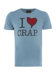 Slim Fit I Love Graphic T-Shirt
