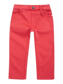 Girls 5 Pocket Casual Trousers