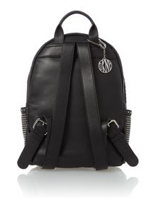 Mini stud black backpack