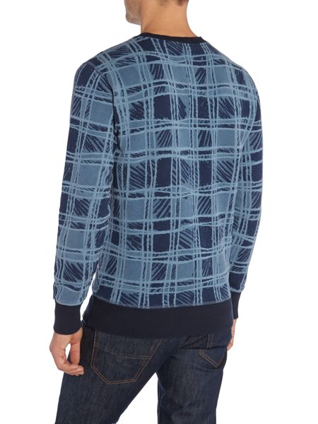 Vivienne Westwood Regular Fit Sketch Tartan Jumper