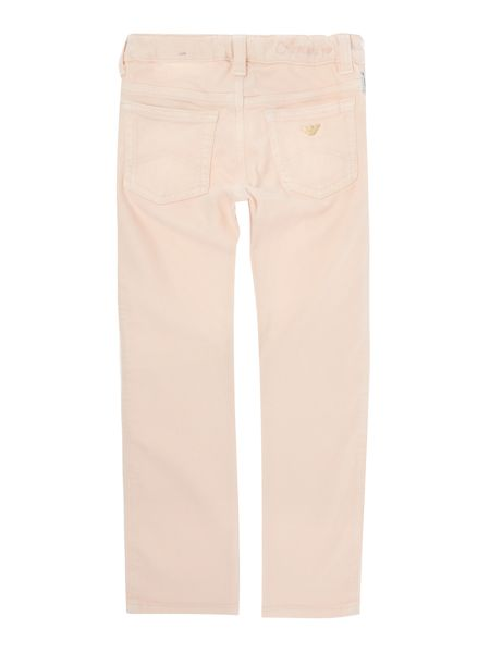 Armani Junior Girls 5 Pocket Casual Trousers
