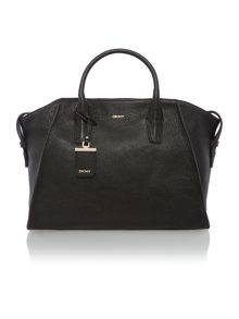 Chelsea vintage black large satchel bag