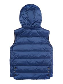 Boys Gilet with Detachable Hood