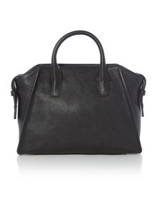 Chelsea vintage black medium satchel bag