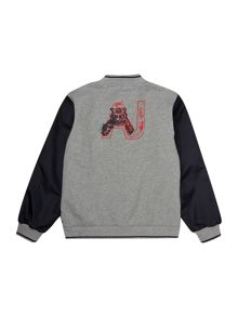 Boys Logo Baseball Jacket
