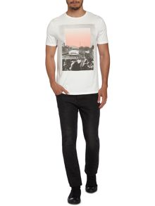 Label Lab Graphic Crew Neck Slim Fit T-Shirt