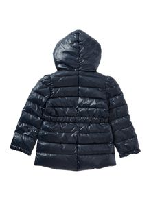 Girls Padded Frill Jacket