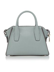 Chelsea vintage light blue mini satchel bag