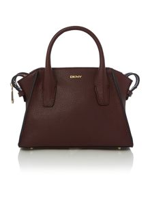 Chelsea vintage burgundy mini satchel bag