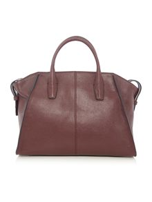 Chelsea vintage burgundy large satchel bag