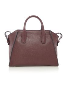 Chelsea vintage burgundy medium satchel bag
