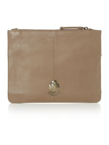 Farham taupe pocket cross body bag