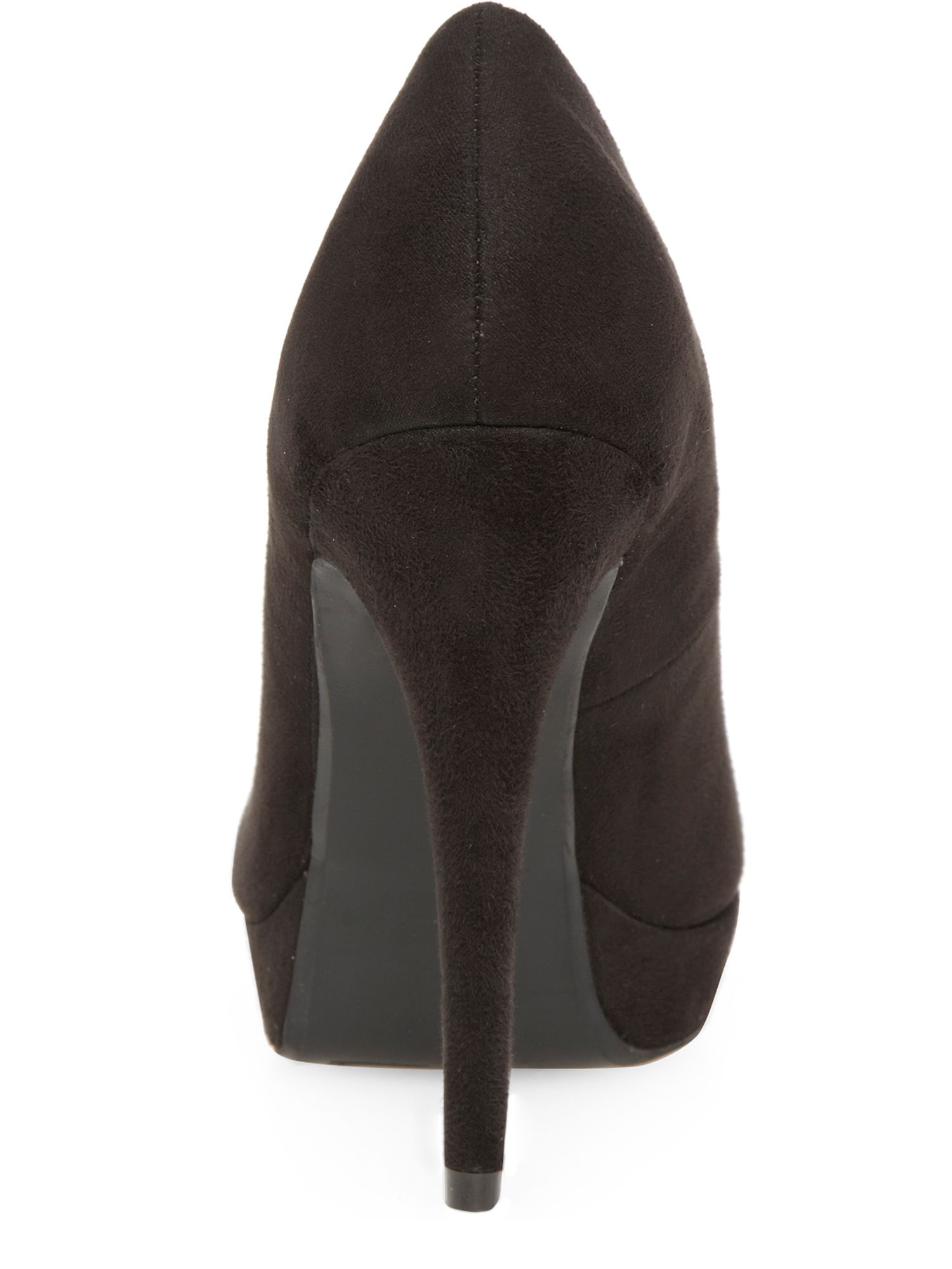 High Peep Toe Court Shoes
