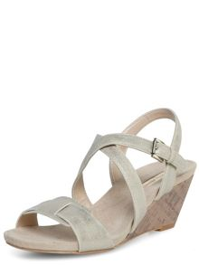 Metallic low wedge