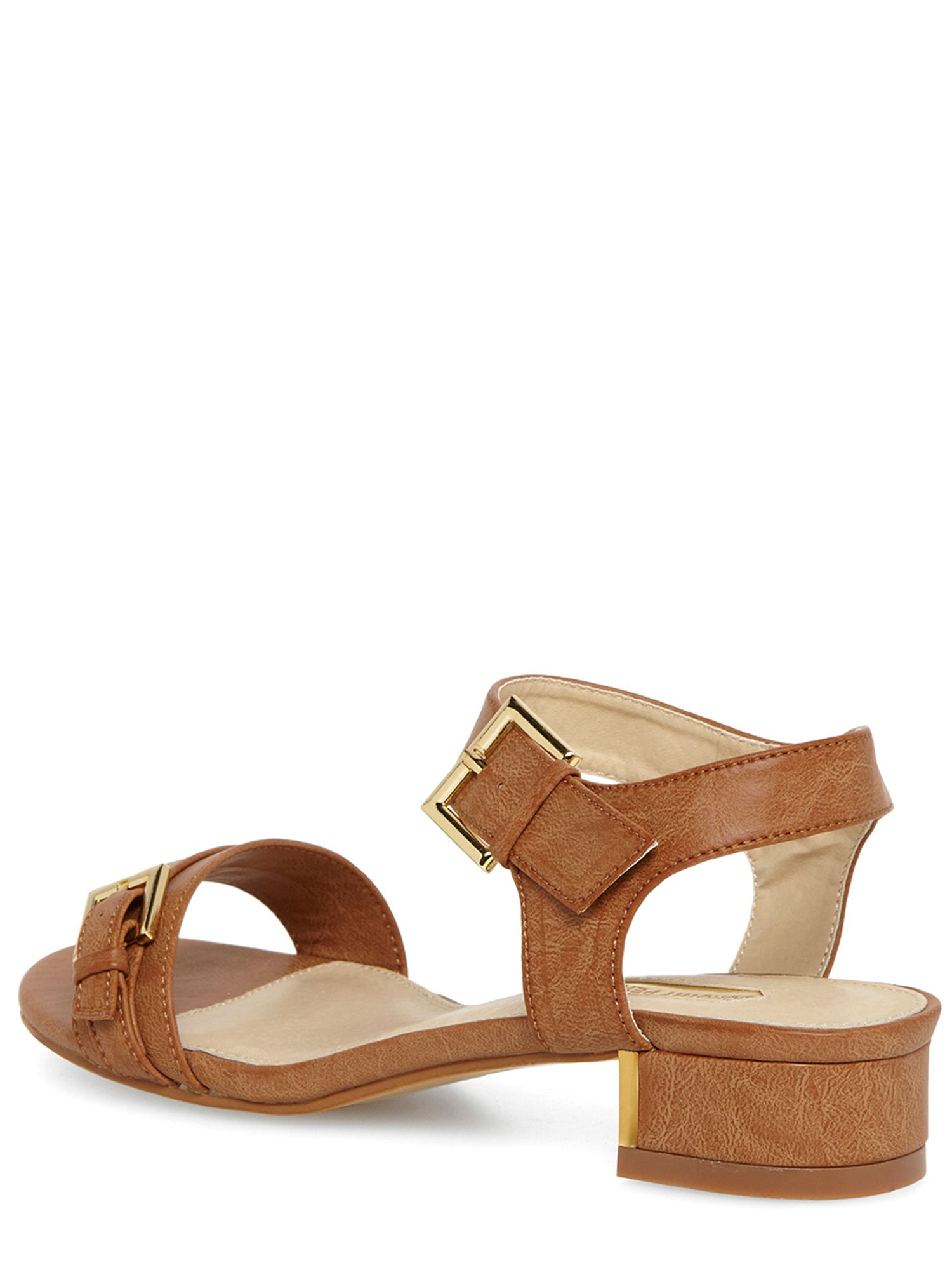 Block Low Heel Sandals
