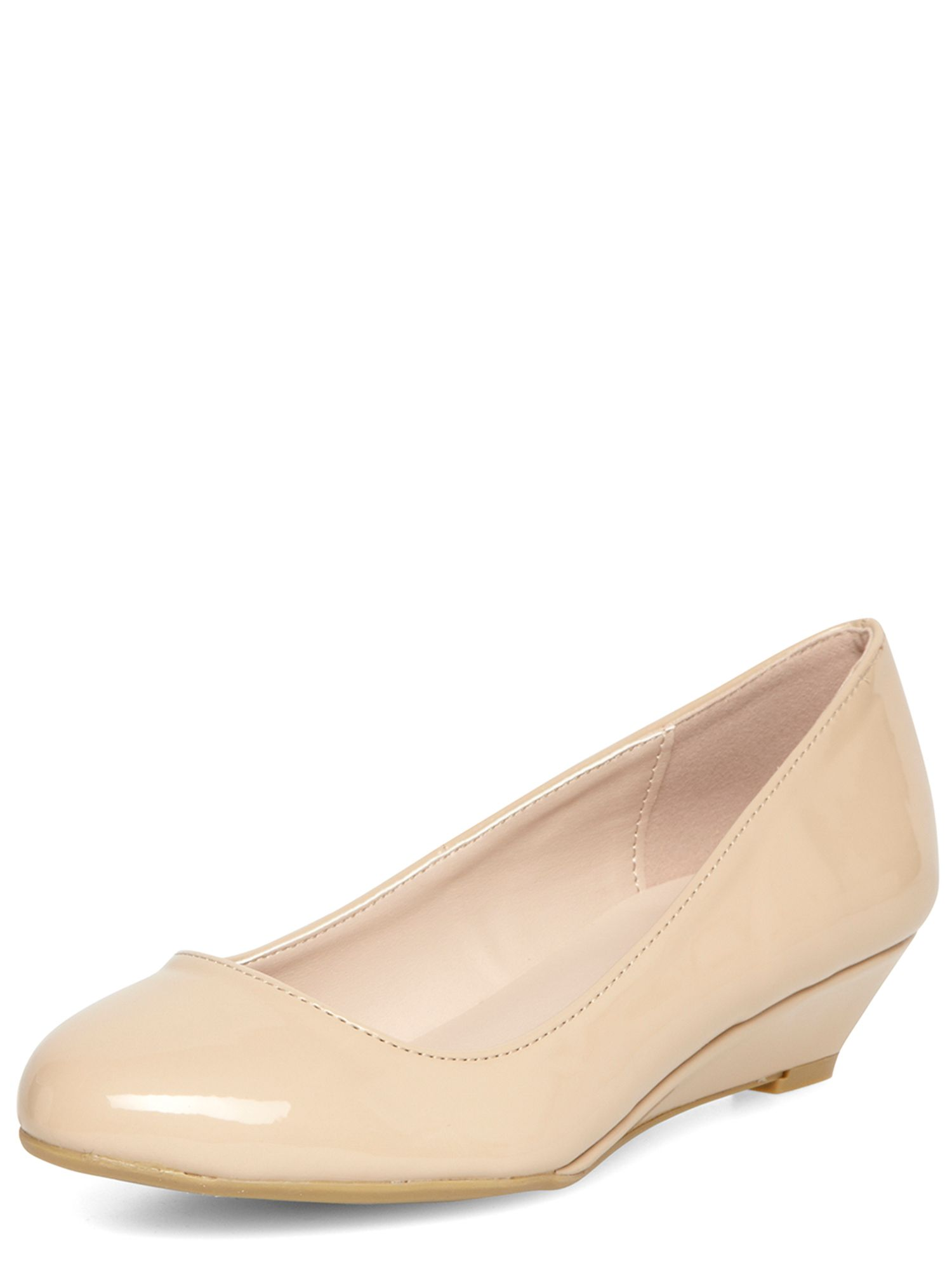 Low Heel Wedge Shoes