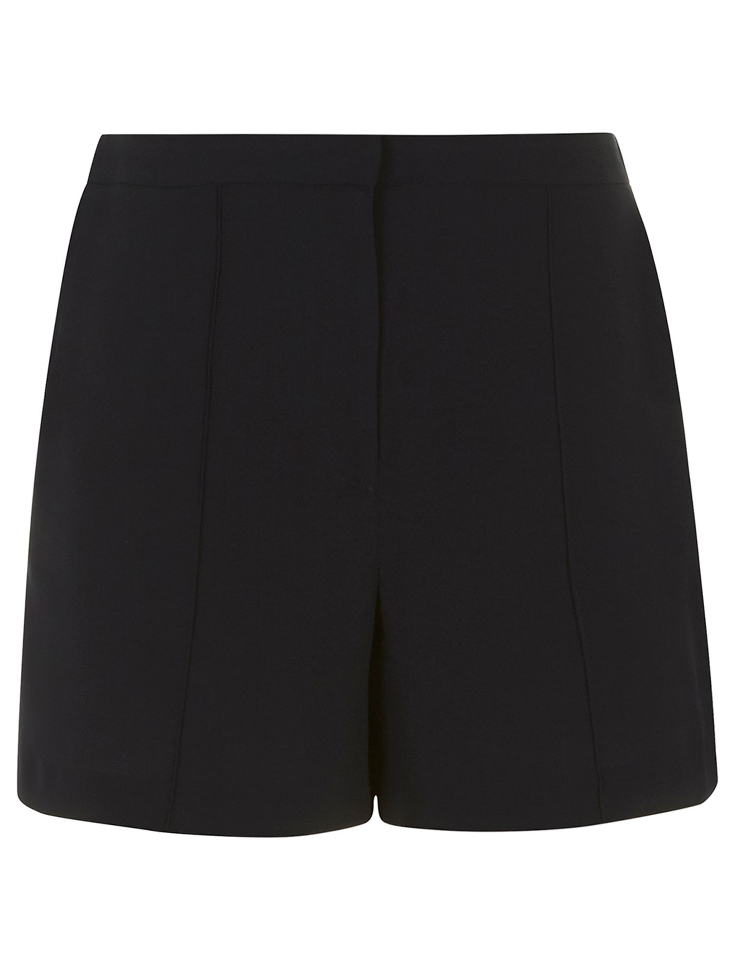 Crepe formal shorts