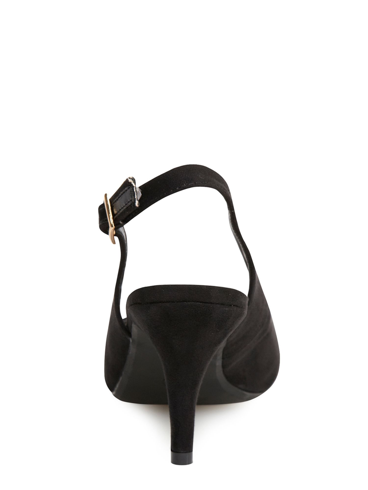 Slingback Mid Heel Court Shoes