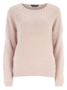 Tall Sleeve Detail Jumper