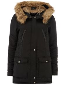 Tall Faux Fur Luxe Parka