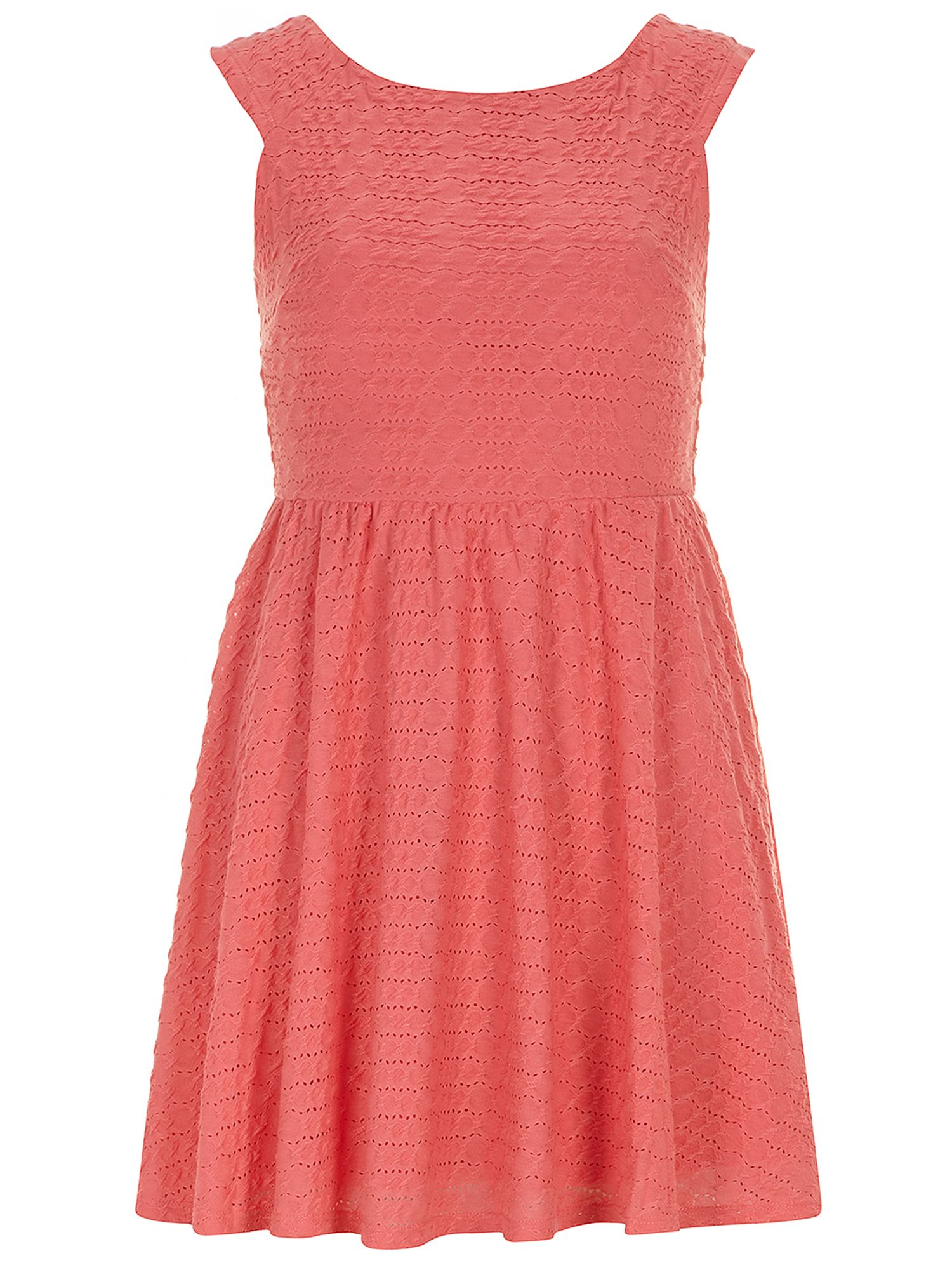 Petite ottoman textured dress